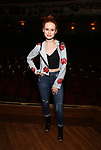 "Madelaine Petsch from the cast of ""Riverdale"" visits Broadway's ""Bandstand"" at the Bernard Jacobs Theate on May 19, 2017 in New York City."
