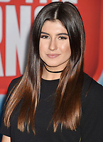 HOLLYWOOD, CA - NOVEMBER 05: Hailie Deegan attends the Premiere Of Disney's 'Ralph Breaks The Internet' at the El Capitan Theatre on November 5, 2018 in Los Angeles, California.<br /> CAP/ROT/TM<br /> &copy;TM/ROT/Capital Pictures