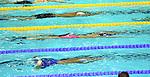 19.08.2014, Velodrom, Berlin, GER, Berlin, Schwimm-EM 2014, im Bild 200m Medley - Men, Bahn 4 - Markus Debiler, Tauchphase<br /> <br />               <br /> Foto © nordphoto /  Engler