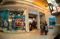 A Children's Place store at the Queens Center Mall in the borough of Queens in New York over the Black Friday weekend, on Saturday, November 26, 2011. Sales for Black Friday this year show a 6.6 percent increase from 2010 with retailers hoping that the increased numbers and foot traffic bodes well for the Christmas season. Many stores were open extra hours, some as early as 9PM on Thanksgiving, contributing to the extra foot traffic.  (© Richard B. Levine)