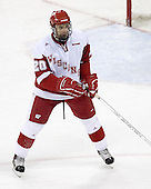 Wisconsin Badger Kyle Klubertanz of Sun Prairie, Wisconsin was named to the 2006 WCHA Final Five All-Tournament Team.  The junior defenseman was drafted 74th overall by the Anaheim Ducks in the 2004 NHL Entry Draft. The Boston College Eagles defeated the University of Wisconsin Badgers 3-0 on Friday, October 27, 2006, at the Kohl Center in Madison, Wisconsin in their first meeting since the 2006 Frozen Four Final which Wisconsin won 2-1 to take the national championship.<br />