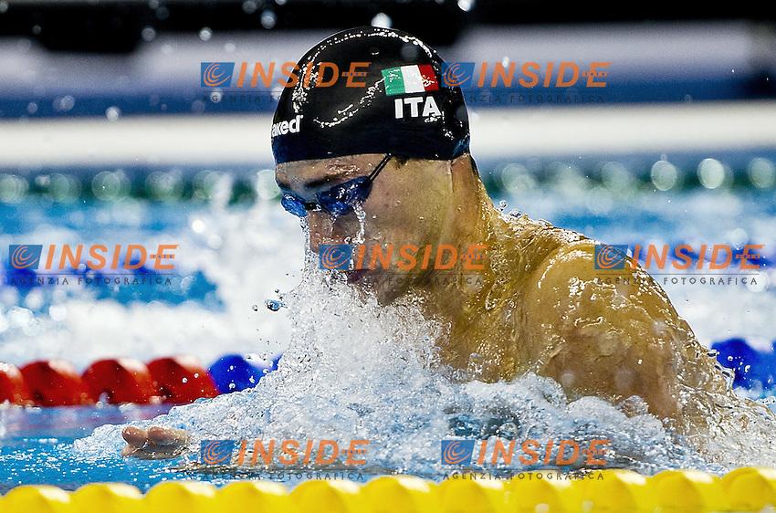 Shanghai , China (CHN) 16-31 July 2001.XIV FINA Swimming World Championships.day 12.Swimming.Final 50 Breast Stroke Men.Fabio Scozzoli ITA.Silver Medal.Photo Insidefoto / Giorgio Scala