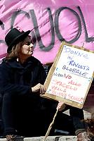 Roma, 8 Marzo 2017<br /> Sciopero globale delle donne, contro la violenza di genere  e lo sfruttamento .<br /> Davanti il Ministero dell' istruzione per la scuola pubblica e per una educazione di genere.