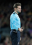 German referee Felix Brych during Champions League 2015/2016 match. April 5,2016. (ALTERPHOTOS/Acero)