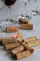 Europe/France/Aquitaine/33/Gironde/Pauillac: Dégustation des vins AOC Pauillac - Les bouchons
