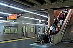 Estação do metro Barra Funda. São Paulo. 2007. Foto de Juca Martins.