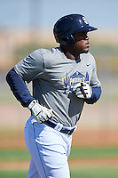 San Diego Padres Carlos Belen (5) during an Instructional League camp day on October 4, 2016 at the Peoria Sports Complex in Peoria, Arizona.  (Mike Janes/Four Seam Images)