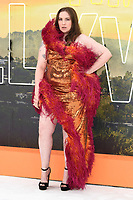 "LONDON, UK. July 30, 2019: Lena Dunham at the UK premiere for ""Once Upon A Time In Hollywood"" in Leicester Square, London.<br /> Picture: Steve Vas/Featureflash"
