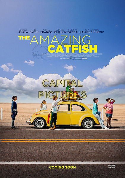 AMERICAN POSTER ART<br /> in The Amazing Catfish (2013) <br /> (Los insolitos peces gato)<br /> *Filmstill - Editorial Use Only*<br /> CAP/FB<br /> Image supplied by Capital Pictures