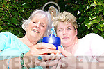 Betty O'Connor and Ann Marie Tydings of the Asdee Pilgrimage Group who are celebrating the 150 anniversary of the Lourdes Shrine with a trip to the French pilgrim hot spot.   Copyright Kerry's Eye 2008