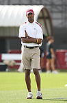 09 December 2007: FSU assistant coach Eric Bell. The University of Southern California Trojans defeated the Florida State University Seminoles 2-0 at the Aggie Soccer Stadium in College Station, Texas in the NCAA Division I Womens College Cup championship game.