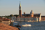 Vaporetta on the Grand Canal, Venice, Italy,