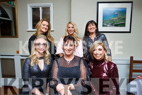Birthday Greetings: The staff of Santuary Clinic, Tralee celeberate the bithday of Rachael Prenderville McCarthy of Castleisland at the Station House, Blennerville on Saturday night last.<br /> Seated L to R: Karen Glover, Birthday girl Rachael Prenderville McCarthy 7 Aileen Goodman. Standing L to R: Louise Mahoney, Stephanie Dowling and Mary O'Donoghue.
