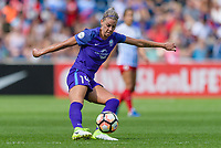 Bridgeview, IL - Saturday July 22, 2017: Alanna Kennedy during a regular season National Women's Soccer League (NWSL) match between the Chicago Red Stars and the Orlando Pride at Toyota Park. The Red Stars won 2-1.