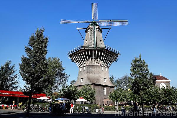 Stadsmolen de Gooyer in Amsterdam