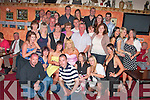 Louise Nagle and Caroline, seated centre from Ballybunion were joined by family an friends at  Exchange Inn, Ballybunion on Friday night for a double 21st birthday party ..   Copyright Kerry's Eye 2008