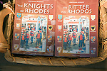 The Knights of Rhodes history books in English and German