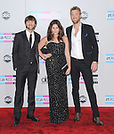 Charles Kelley, Hillary Scott and Dave Haywood of Lady Antebellum  attends 2011 American Music Awards held at The Nokia Theater Live in Los Angeles, California on November 20,2011                                                                               © 2011 DVS / Hollywood Press Agency