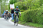 Maximilian Schachmann (GER) Bora-Hansgrohe gives chase on the C&ocirc;te de Roche-aux-Faucons 105th edition of Li&egrave;ge-Bastogne-Li&egrave;ge 2019, La Doyenne, running 256km from Liege to Liege, Belgium. 28th April 2019<br /> Picture: Colin Flockton | Cyclefile<br /> All photos usage must carry mandatory copyright credit (&copy; Cyclefile | Colin Flockton)