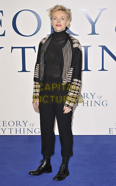LONDON, ENGLAND - DECEMBER 09: Maxine Peake attends the &quot;The Theory of Everything&quot; UK film premiere, Odeon Leicester Square cinema, Leicester Square, on Tuesday December 09, 2014 in London, England, UK. <br /> CAP/CAN<br /> &copy;Can Nguyen/Capital Pictures