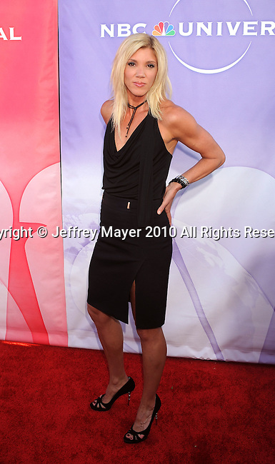 BEVERLY HILLS, CA. - July 30: Jackie Warner arrives at NBC Universal's Press Tour All Star Party at The Beverly Hilton Hotel on July 30, 2010 in Beverly Hills, California.