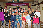 PARTY TIME: Party time for Lorraine Guerin from KIlflynn as she celebrated her 30th Birthday with her Family and friends in Herberts Bar, Kilflynn on Satuday night. (Lorraine is seated 3rd from right). .............. ....................