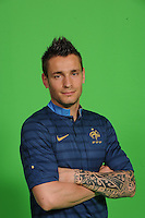 Mathieu Debuchy .29/5/2012 .Calcio Foto Ufficiali Francia Euro2012.Foto Insidefoto / Anthony Bibard / FEP/ Panoramic ITALY ONLY