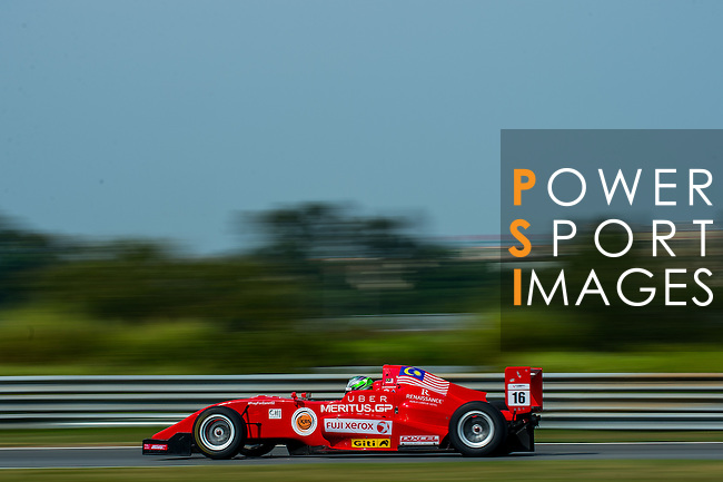 Daniel Woodroof of Malaysia and Meritus GP  drives during the Formula Masters China Series as part of the 2015 Pan Delta Super Racing Festival at Zhuhai International Circuit on September 20, 2015 in Zhuhai, China.  Photo by Aitor Alcalde/Power Sport Images