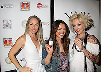 Christy Oldham, Lilly Melgar, Lulu Danger<br /> at the 'DemiGoddess Vape' Celebrity Lounge hosted by PhotoMundo Publishing, Westin Los Angeles Airport Hotel, Los Angeles, CA 07-09-16