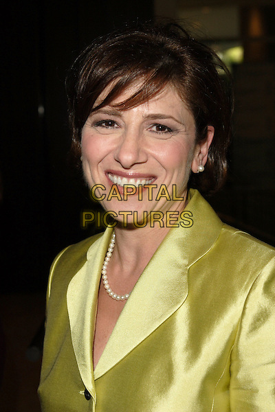 NINA TASSLER.20th Annual Imagen Awards Gala Presented by the Imagen Foundation held at the Beverly Hilton Hotel, Beverly Hills, California.June 17th, 2005.Photo Credit: Zach Lipp/AdMedia.headshot portrait pearl necklace earring green.www.capitalpictures.com.sales@capitalpictures.com.© Capital Pictures.
