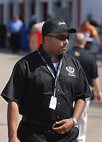 Apr 28, 2007; Talladega, AL, USA; Max Siegel president of DEI during Nascar Nextel Cup Series qualifying for the Aarons 499 at Talladega Superspeedway. Mandatory Credit: Mark J. Rebilas