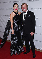 April 11, 2019 - Beverly Hills, California - Camilla Belle and Nigel Lythgoe. Los Angeles Ballet Gala 2019 held at The Beverly Hilton Hotel. Photo Credit: Billy Bennight/AdMedia
