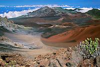Haleakala National Park on Maui in Hawaii