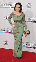 LOS ANGELES, CA - NOVEMBER 18: Gloria Estefan attends the 40th Anniversary American Music Awards held at Nokia Theatre L.A. Live on November 18, 2012 in Los Angeles, California.PAP1112JP313..PAP1112JP313..