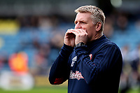 Brentford Manager, Dean Smith during Millwall vs Brentford, Sky Bet EFL Championship Football at The Den on 10th March 2018