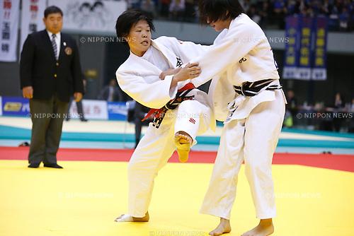 Anzu Yamamoto, NOVEMBER 8, 2015 - Judo : Kodokan Cup 2015 Women's -57kg at Chiba Port Arena, Chiba, Japan. (Photo by Sho Tamura/AFLO SPORT)