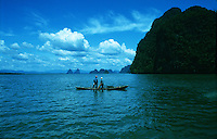 Fishermen fishing the Andaman Sea