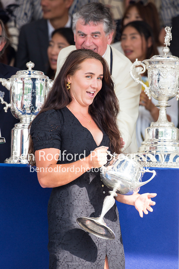 PRIZE GIVING<br /> <br /> Henley Royal Regatta 2019 - Sunday<br /> <br /> To purchase this photo, or to see pricing information for Prints and Downloads, click the blue 'Add to Cart' button at the top-right of the page.
