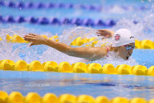 Misuzu Yabu (Musashino), <br /> August 18, 2014 - Swimming :<br /> 2014 All-Japan Inter High School Championships,<br /> Women's 200m Butterfly Final <br /> at Chiba International General Swimming Center, Chiba, Japan. <br /> (Photo by Yohei Osada/AFLO SPORT)