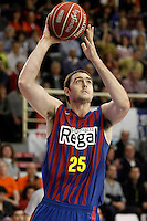 FC Barcelona Regal's Erazem Lorbek during Liga Endesa ACB match.November 18,2012. (ALTERPHOTOS/Acero) NortePhoto