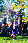 Today we honor the protectors of the earth, not those who have sought to destroy it  and bend it to their will.  Happy Indigenous Peoples Day. | Image of an Aztec dancer from the 2016 Indigenous Peoples Day Celebration on Randall's Island.