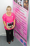 Nicola Ricourt at the Beauty Academy open day..Picture: Shane Maguire / www.newsfile.ie.