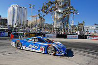 #01 Ford Riley DP of Scott Pruett and Memo Rojas races to victory, Long Beach Grand Prix, Long Beach, CA, April 2014.  (Photo by Brian Cleary/ www.bcpix.com )  Long Beach Grand Prix, Long Beach, CA, April 2014.  (Photo by Brian Cleary/ www.bcpix.com )