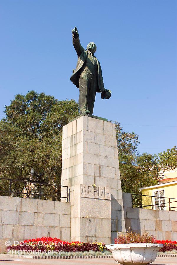 Statue of Lenin, Vladivostok, Russia