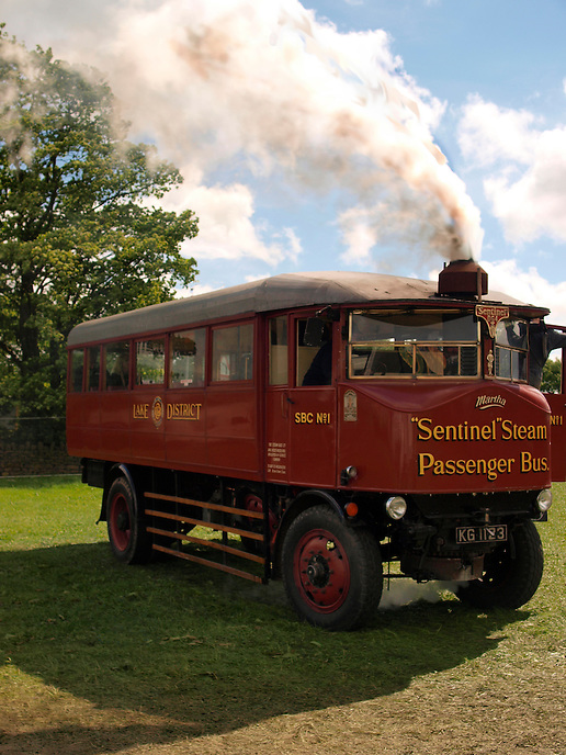 Sentinel Steam Bus - 1932