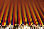 Small Business, Home Office, filing system, detail of file, close-up of colorful hanging file folders, abstract, Issaquah, Washington USA
