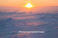 60595-01111 Sunset on tundra, Cape Churchill Wapusk National Park, Churchill, MB