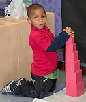 Students work on exercises at Blackshear Elementary School, October 14, 2014.