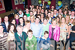 Party for 2: Brian Looby (Shanakill) and Rory Harty (Caherslee), Tralee (standing centre) both celebrated their 30th birthdays in O'Donnell's bar/restaurant, Mounthawk, Tralee last Friday night with a wild party of family and friends.