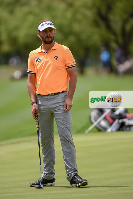 Joost Luiten (NLD) watches his putt on 12 during day 4 of the Valero Texas Open, at the TPC San Antonio Oaks Course, San Antonio, Texas, USA. 4/7/2019.<br /> Picture: Golffile | Ken Murray<br /> <br /> <br /> All photo usage must carry mandatory copyright credit (© Golffile | Ken Murray)